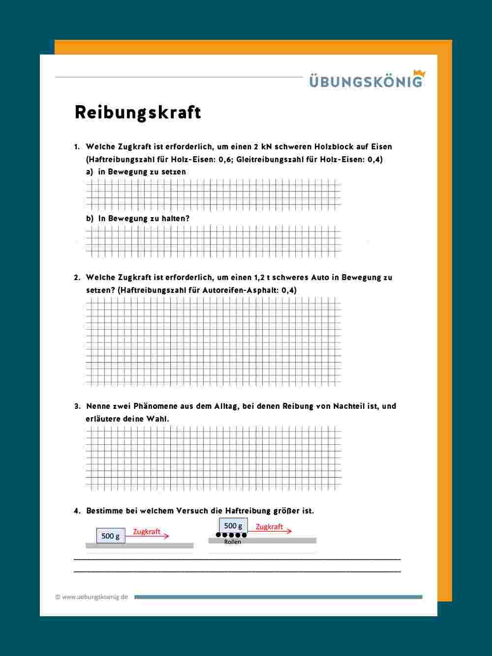 Haft Gleit Und Rollreibung Leifiphysik 15