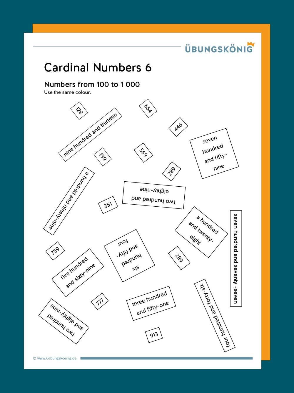 Kardinalzahlen