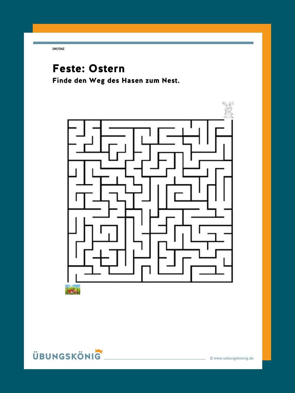 daz / daf: feste: ostern