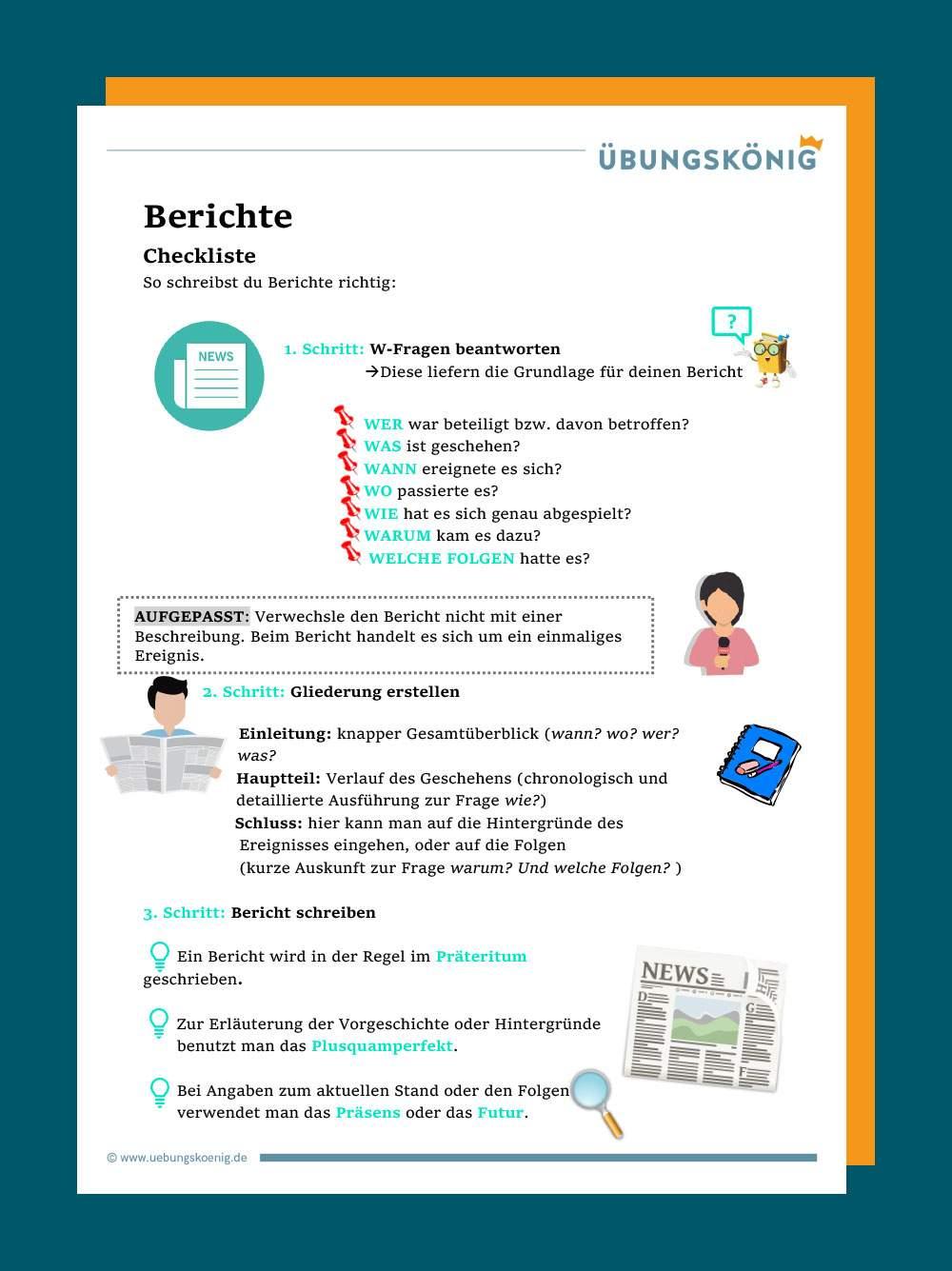 Zeitungsmeldung Schreiben Beispiel Und Anleitung