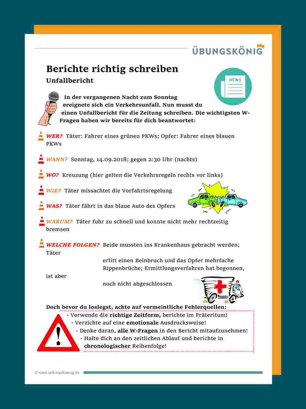 Europaischer Unfallbericht Plus Versicherungsmeldung 14