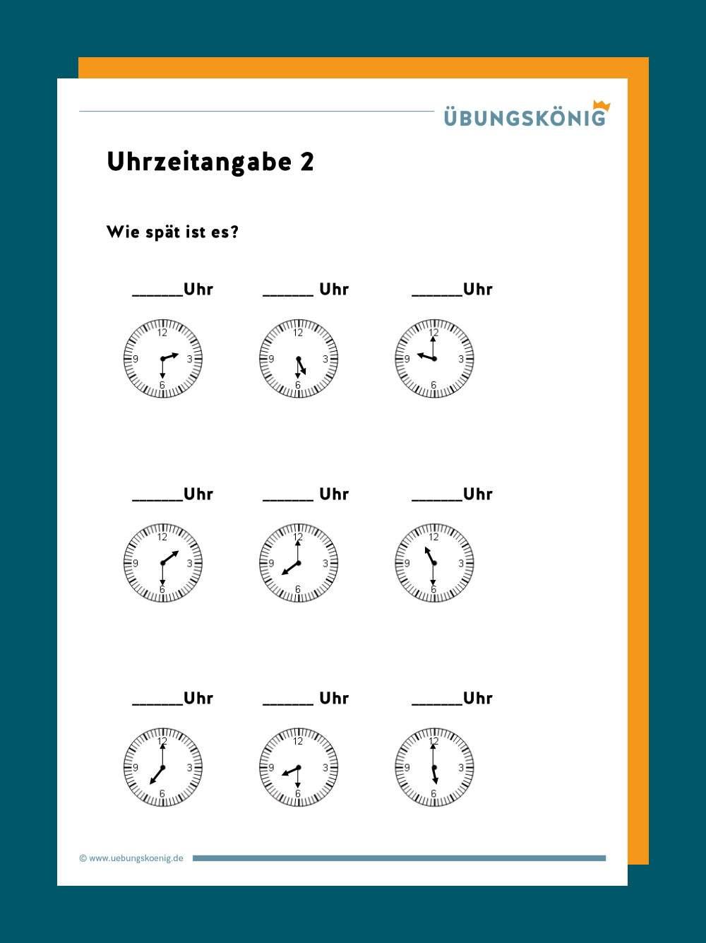 DaZ / DaF Datum / Uhrzeit
