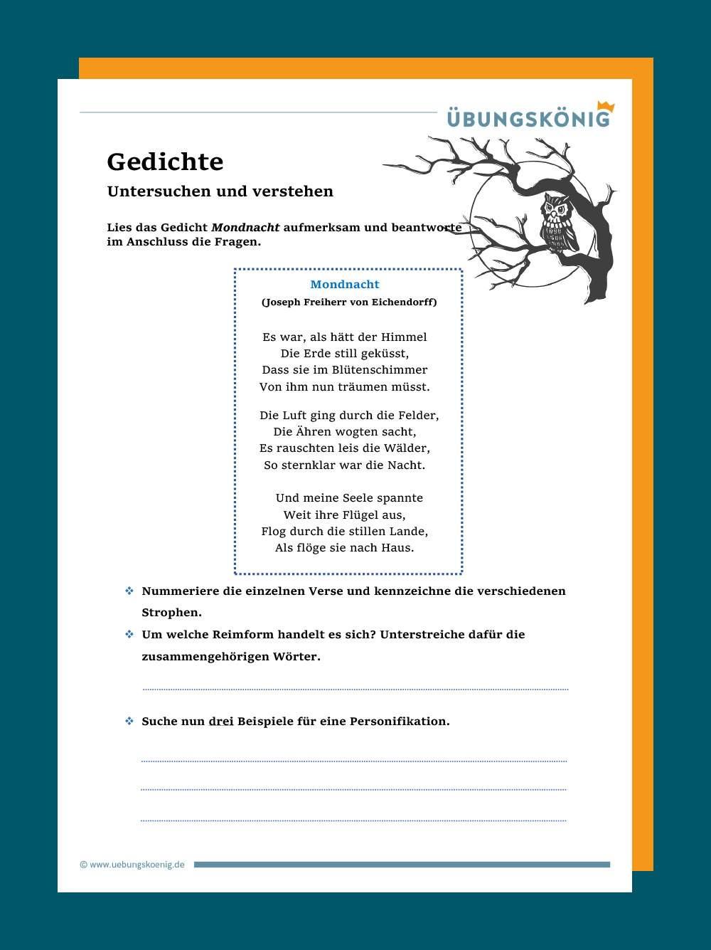 Eine Gedichtanalyse Schreiben Methoden Online Kurse 15