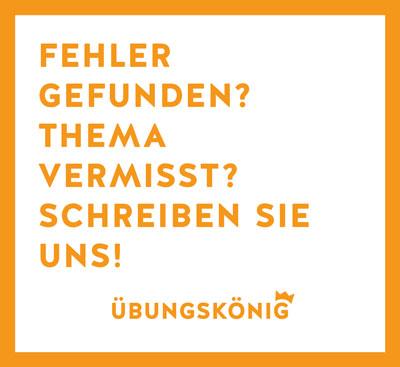 Übungskönig - Kostenlose Arbeitsblätter und Übungen für Gymnasium ...